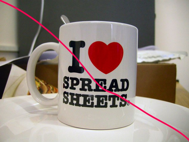 I <3 spreadsheets | Flickr - Photo Sharing!